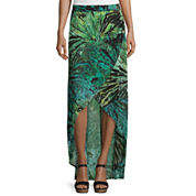 a.n.a® Cross Front Maxi Skirt- Tall