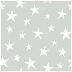 NuWallpaper Stardust Grey Peel and Stick Wallpaper