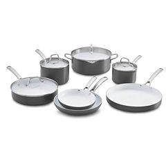 Calphalon® Classic 11-pc. Ceramic Nonstick Cookware Set