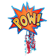 Superhero Comics Pull-String Pinata