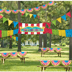 BuySeasons Giant Outdoor Carnival Decorating Kit