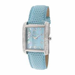 Peugeot Womens Blue Strap Watch-3009bl