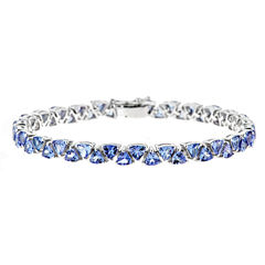 LIMITED QUANTITIES Genuine Tanzanite Sterling Silver Bracelet 1