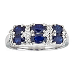 LIMITED QUANTITIES Blue Sapphire Sterling Silver Ring