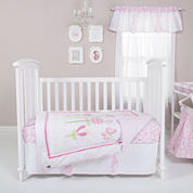 Trend Lab® Floral Fun 6-pc. Crib Bedding Set