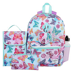 6PC BUTTERFLY BACKPACK SET