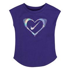 Nike Graphic T-Shirt-Preschool Girls