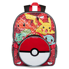 Pokemon Backpack with Lunch Box