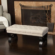 Grandview Tufted Ottoman Bench