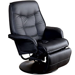 Linbergville Faux-Leather Recliner