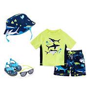 Carter's® Shark Bucket Hat, Shark Accessory Set or Rashguard Set - Baby Boys newborn-24m