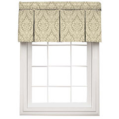 Waverly® Donnington Rod-Pocket Box-Pleated Valance