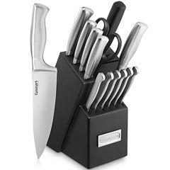 Cuisinart® Classic 15-pc. Knife Block Set
