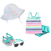 Carter's® Sunhat, Sunglasses, Sandals or Swim Set - Baby Girls newborn-24m