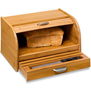 Honey-Can-Do® Bamboo Bread Box