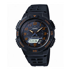 Casio® Mens Analog-Digital Solar Watch AQ-S800W-1B2V
