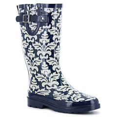 Western Chief Ikat Damask Womens Waterproof Rain Boots