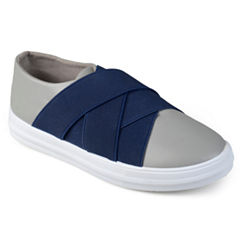 Journee Kids Archie Boys Slip-On Shoes - Little Kids