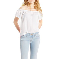 Levi's Short Sleeve Blouse