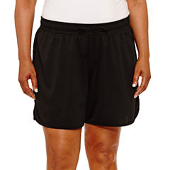 Made For Life Woven Workout Shorts Plus