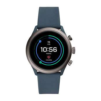 Fossil Smartwatches Sport 43mm Unisex Adult Blue Smart Watch ftw4021