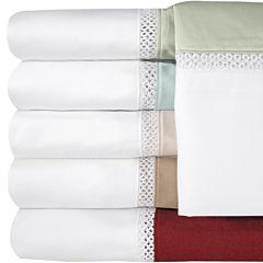 Veratex 500tc Cotton Sateen Embroidered Duet Sheet Set