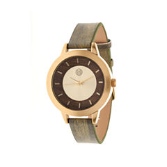 Earth Wood Autumn Olive Strap Watch ETHEW3004