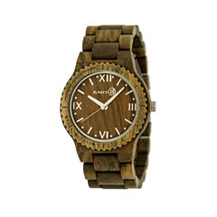 Earth Wood Bighorn Olive Bracelet Watch ETHEW3504