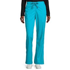 WonderWink® Womens WonderWork Grace Flare-Leg Pants - Plus and Tall