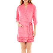 Coeur d' Alene 3/4-Sleeve Ruffled Robe