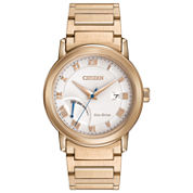 Citizen® Eco-Drive Men's Stainless Steel Power Reserve Watch Aw7020-51A