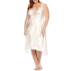 Flora Stella Charmeuse Nightgown - Plus