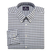 Stafford® Travel Long-Sleeve Wrinkle-Free Oxford Dress Shirt - Big & Tall