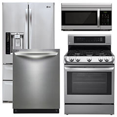 Gas Kitchen Package Stainless Steel