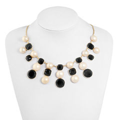 Monet Jewelry Multi Color Statement Necklace
