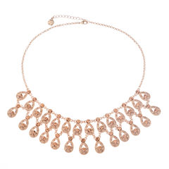 Monet Jewelry Pink Statement Necklace