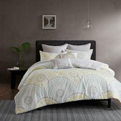 Urban Habitat Nicolette Cotton Percale 7-pc. Duvet Cover Set