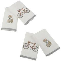 Afternoon Ride Cotton 4-pc. Bath Towel Set