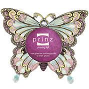 Butterfly Beaded 2½x2½