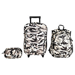 Obersee® Little Kids 3-pc. Camo Luggage, Backpack & Toiletry Bag Set