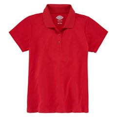 Dickies® Short-Sleeve Performance Polo Shirt - Preschool Girls 4-6x