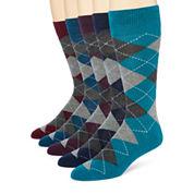 Stafford® 5-pk. Cotton-Rich Crew Socks