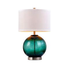 Catalina Jade Glass Table Lamp