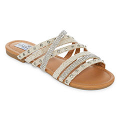 Tallulah Blu Paloma Womens Slide Sandals