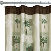 Bacova Citrus Palm Bath Shower Curtain