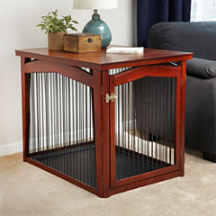 Zoovilla™ 2-in-1 Configurable Pet Crate and Gate