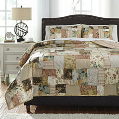 Signature Design by Ashley® Damalis 3-pc. Quilt Set