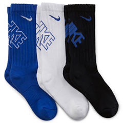 Nike® 3-pk. Performance Crew Socks - Boys