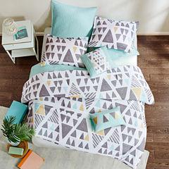 Urban Habitat Levi Cotton Printed 7-pc. Midweight Reversible Comforter Set