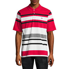 Ecko Unltd Short Sleeve Stripe Jersey Polo Shirt